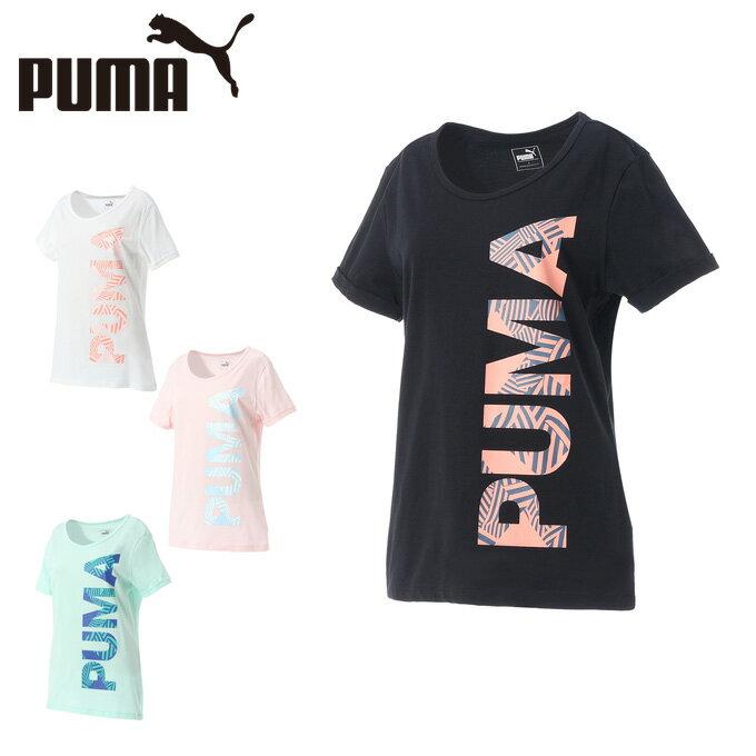 プーマ 半袖Tシャツ レディース