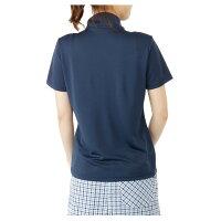 マリクレール(marieclaire)ゴルフ半袖ポロシャツ(レディース)裏メッシュ胸ロゴ半袖シャツ716-623