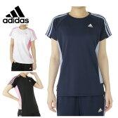 アディダス adidasスポーツウェア Tシャツ レディース機能TシャツBUJ68