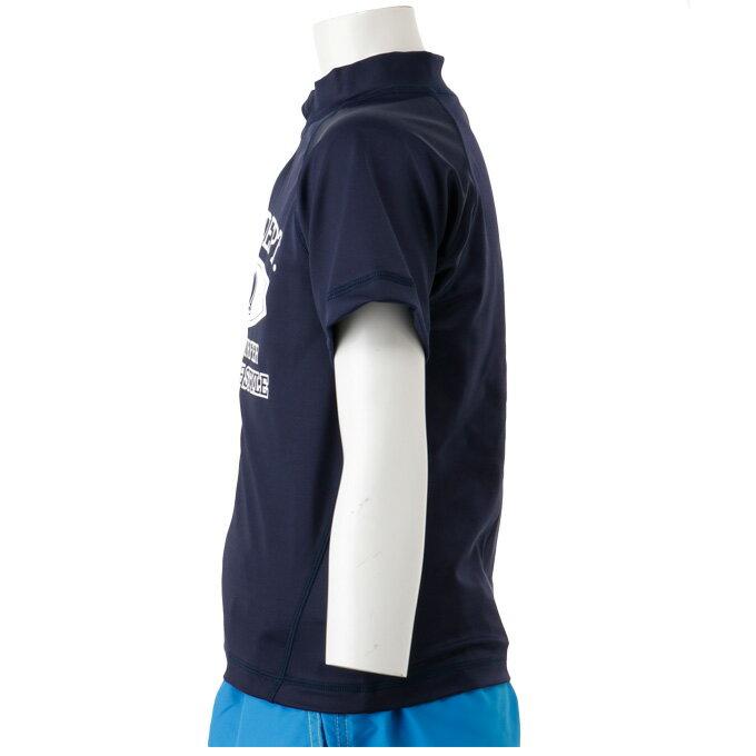 エスエルキュー(SLQ)スイムウェアラッシュガード半袖(ジュニア)半袖ラッシュトップSL470107F01