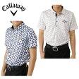 キャロウェイ Callawayゴルフ 半袖シャツ メンズMコパカバーナプリント半袖ポロ241-6157516