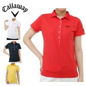 キャロウェイ Callawayゴルフ 半袖ポロシャツ レディース鹿の子半袖シャツ241-6151803