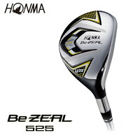 本間ゴルフ(HONMA)ゴルフクラブ(メンズ)ビジール525ユーティリティ(シャフトVIZARDforBeZEAL)BeZEAL525UT【2016年モデル】