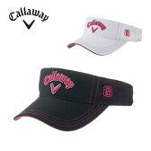 キャロウェイ Callawayゴルフ サンバイザー レディースCallaway Basic Visor Women's 16 JM