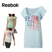 リーボック Reebokフィットネスウェア レディースヨガ NYCTシャツAQF74