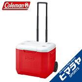 コールマン Colemanクーラーボックス ハードクーラーホイールクーラー/60QTレッド/ホワイト2000027864アウトドア キャンプ BBQ バーベキュー