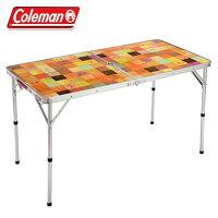 コールマン(Coleman)アウトドア大型テーブルナチュラルモザイクリビングテーブル/120プラス2000026751【C16SS】