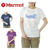 マーモット Marmotトレッキング Tシャツ レディースMOT-S2305WM