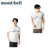 モンベル mont bellトレッキング 半袖シャツ メンズ レディースWIC.T Light & Fast1114140
