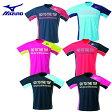 ミズノ MIZUNOテニス バドミントン ウェアロゴTシャツ メンズ レディース62JA6Z08