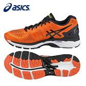 アシックス asicsランニングシューズ メンズゲルカヤノ 23TJG943 0990マラソンシューズ ジョギング ランシュー クッション重視