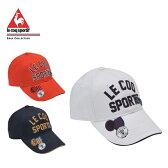 ルコック le coq sportifゴルフ レディースロゴキャップQGL0391