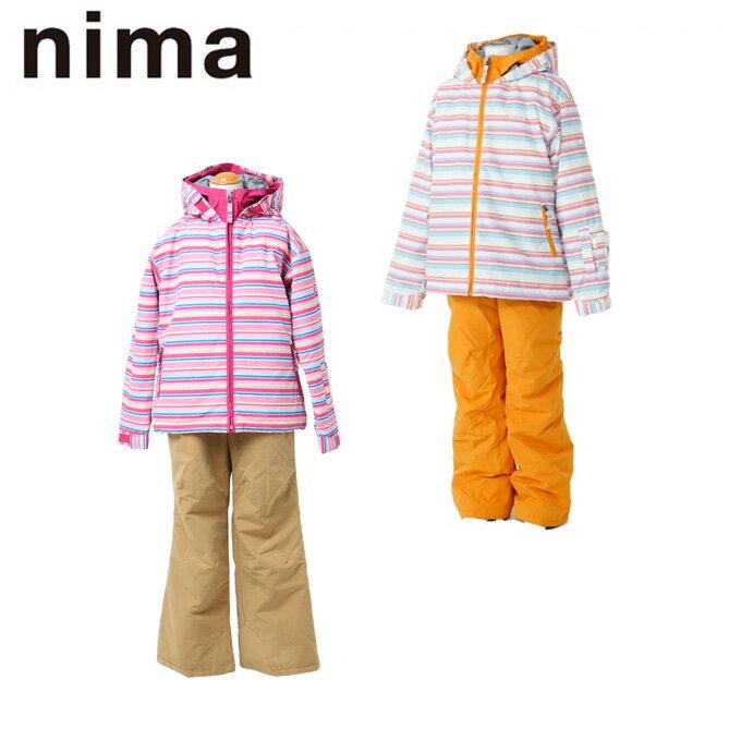 ニーマ(nima)スキー上下セットジュニアスノースーツJR-6007