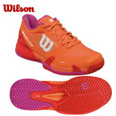 ウイルソン Wilsonテニスシューズ オールコート用 レディースラッシュプロ2.5 ACWRS322720