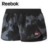 リーボック Reebokショートパンツ レディースクロスフィット カモフラ ストレッチウーブンショーツBXC84