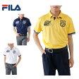 フィラ FILA ゴルフ 半袖ポロシャツ メンズ 千鳥ジャガード半袖ポロ 747-603