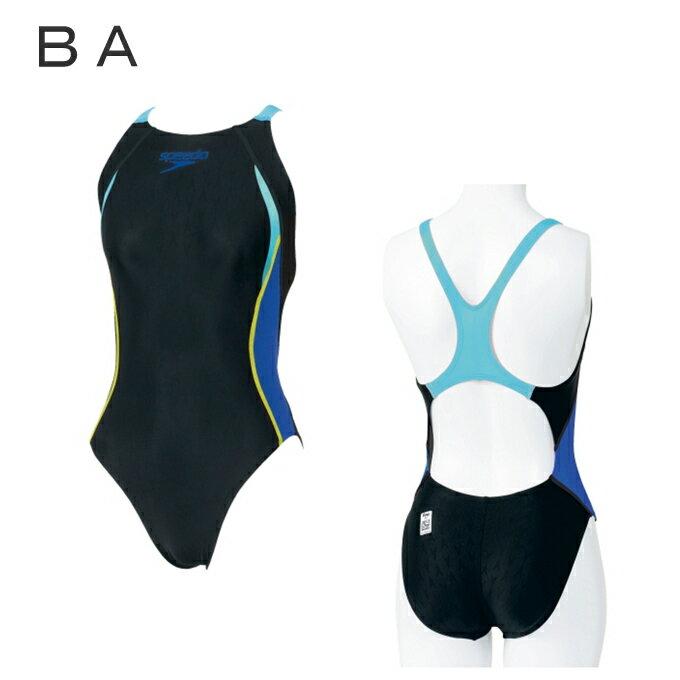 スピードspeedo競泳水着トレーニングレディースINA承認フレックスFLEXシグマエイムカットSD47B45レーシングスイミング