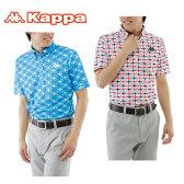 カッパゴルフ KAPPA GOLF ゴルフウェア ポロシャツ メンズ 半袖シャツ KG712SS47