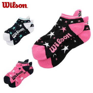 ウイルソン Wilson ゴルフ アクセサリー レディース 星柄ショートソックス WBS1710LA