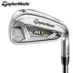テーラーメイド TaylorMade ゴルフクラブ アイアンセット 6本組 メンズ スチールシャフト M1