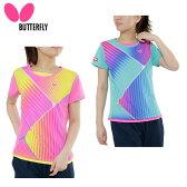 バタフライ Butterfly 卓球 レディース ゲームシャツ 45029