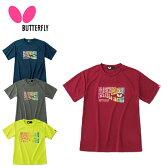 バタフライ Butterfly 卓球ウェア メンズ レディース ジョレノ・Tシャツ 45170