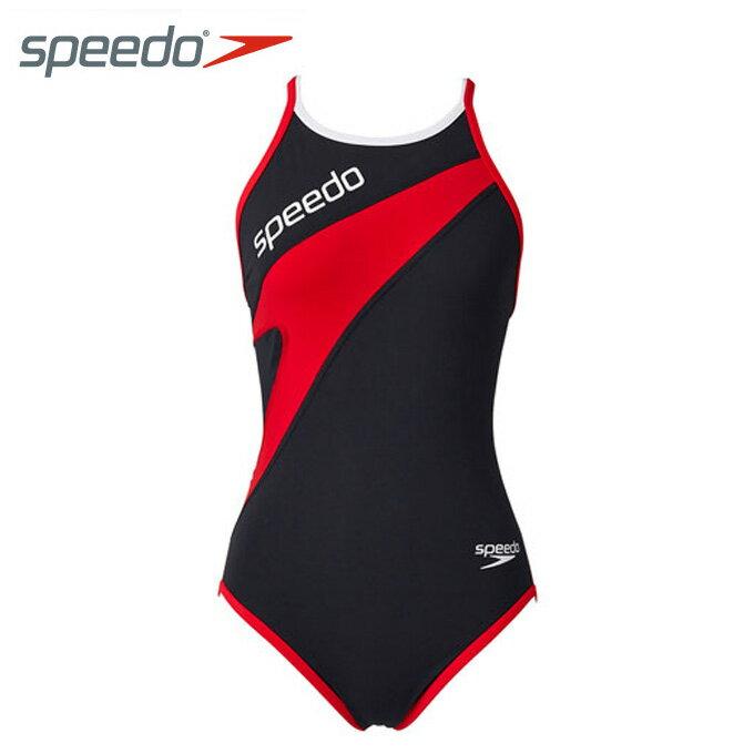 スピードspeedoトレーニング水着ジュニアトレインカットスーツガールズ練習用ワンピースSD37T03