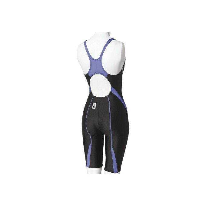 スピードspeedoFINA承認モデル競泳水着レーシングレディースFLEXCubeセミオープンバックニースキンSD46H04