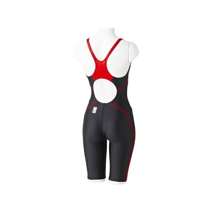 スピードspeedoFINA承認競泳水着レディースFLEXΣセミオープンバックニースキンVII競泳用オールインワンSD47H5S2