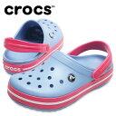 クロックス クロックバンド クロッグ レディース 11016 BL/PK crocsの商品画像