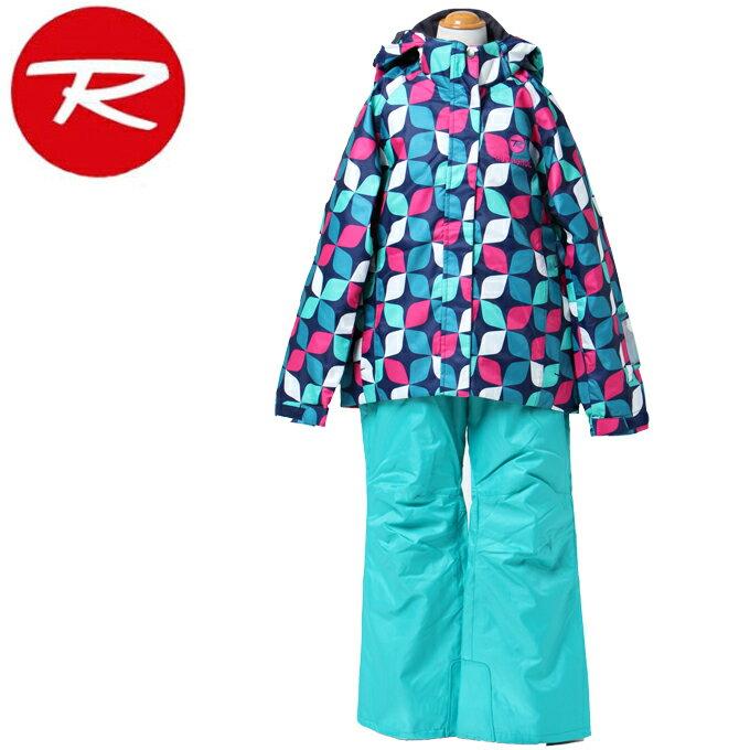 ロシニョール ROSSIGNOL スキーウェア 上下セット ジュニア JUNIOR GIRL SUIT ジュニア ガール スーツ RLFJJST03