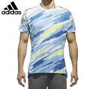 アディダス テニスウェア Tシャツ 半袖 メンズ ML AOP Tシャツ CG2522 DRS20 ...