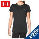 アンダーアーマー UNDER ARMOUR Tシャツ 半袖 レディース テックTシャツ 1277207-090