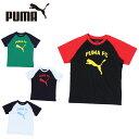 プーマ Tシャツ 半袖 ジュニア ラグランプリント 753157 PUMA