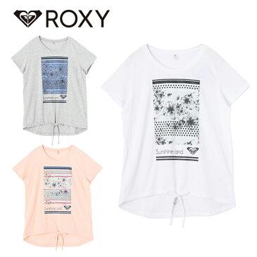 ロキシー ROXY Tシャツ 半袖 レディース UVカット & 速乾 Tシャツ SUNSHINE S/S TEE サンシャイン RST181513