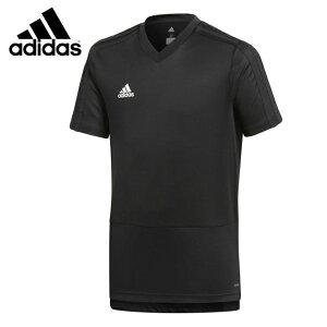 アディダス adidas サッカーウェア プラクティスシャツ 半袖 ジュニア KIDS CONDIVO18 トレーニングジャージー キッズ 子供用 CG0373 DJV17