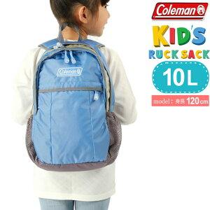 コールマン リュックサック 10L ジュニア キッズ ウォーカーミニ ブルー 2000032955 Coleman 日帰り登山