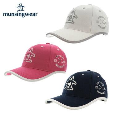 マンシング Munsingwear ゴルフ キャップ レディース ウェーブカットキャップ MGCLJC01