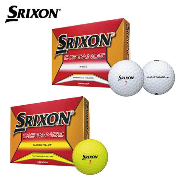 スリクソンSRIXONゴルフボール1ダース12個入ディスタンスDISTANCE2018DZ
