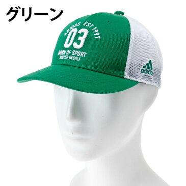 アディダス ゴルフ キャップ メンズ adicross ロゴメッシュキャップ CCR69 adidas