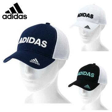 【4/15はエントリー&楽天カードで5倍】 アディダス ゴルフ キャップ メンズ ダブルラッセルメッシュキャップ CCR62 adidas