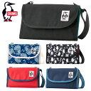 チャムス CHUMS ショルダーバッグ メンズ レディース Eco Bellows Pocketbook Shoulder エコ ベロウズ ポケットブック ショルダー CH60-2476