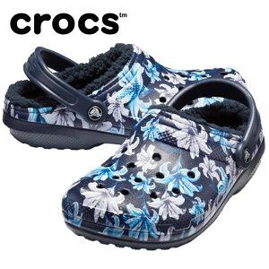クロックス サンダル メンズ レディース クラシック ラインド グラフィック 2.0 クロッグ 205324-5P5 crocs
