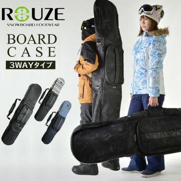【8,000円以上でクーポン利用可能 12/28 20:00〜1/6 23:59】 ラウズ ROUZE スノーボードケース メンズ レディース Wrap RZB508