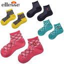 エレッセ ellesse ソックス レディース 90レディースショートソックス Ladies Short Socks Women's EAC0852L
