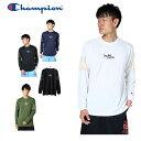 チャンピオン Champion バスケットボール 長袖シャツ メンズ プラクティスロングスリーブTシャツ E-MOTION C3-NB410