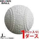 ケンコー kenko 軟式野球ボール J号 ジュニア 1ダー...