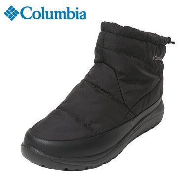 コロンビア スノーブーツ 冬靴 メンズ レディース スピンリールミニBアドバンスWPOH YU3970 010 Columbia