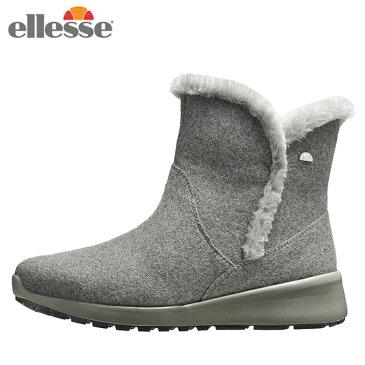 エレッセ スノーブーツ レディース コルティナ ウインターブーツミッド カジュアル 靴 EFW8344 GR