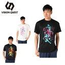 ビジョンクエスト VISION QUEST バスケットボールウェア 半袖シャツ メンズ グラフィックTシャツ VQ570413I01
